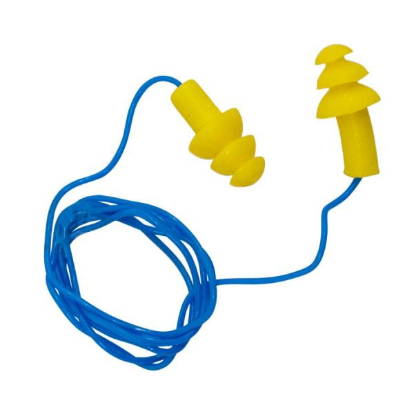 Protetor Auricular tipo plug de silicone com cordão - PROMAX EPI ... f982292bf6