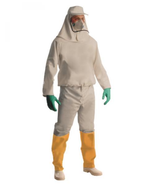 92b2babf6d00a Conjunto para aplicação de Herbicida - Vestimenta para o corpo todo ...